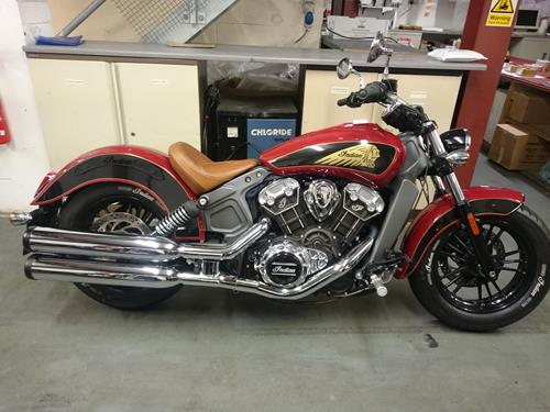 """Bell Racing Helmets >> Indian Scout """"Face Lift Kit"""" Fenders Only"""